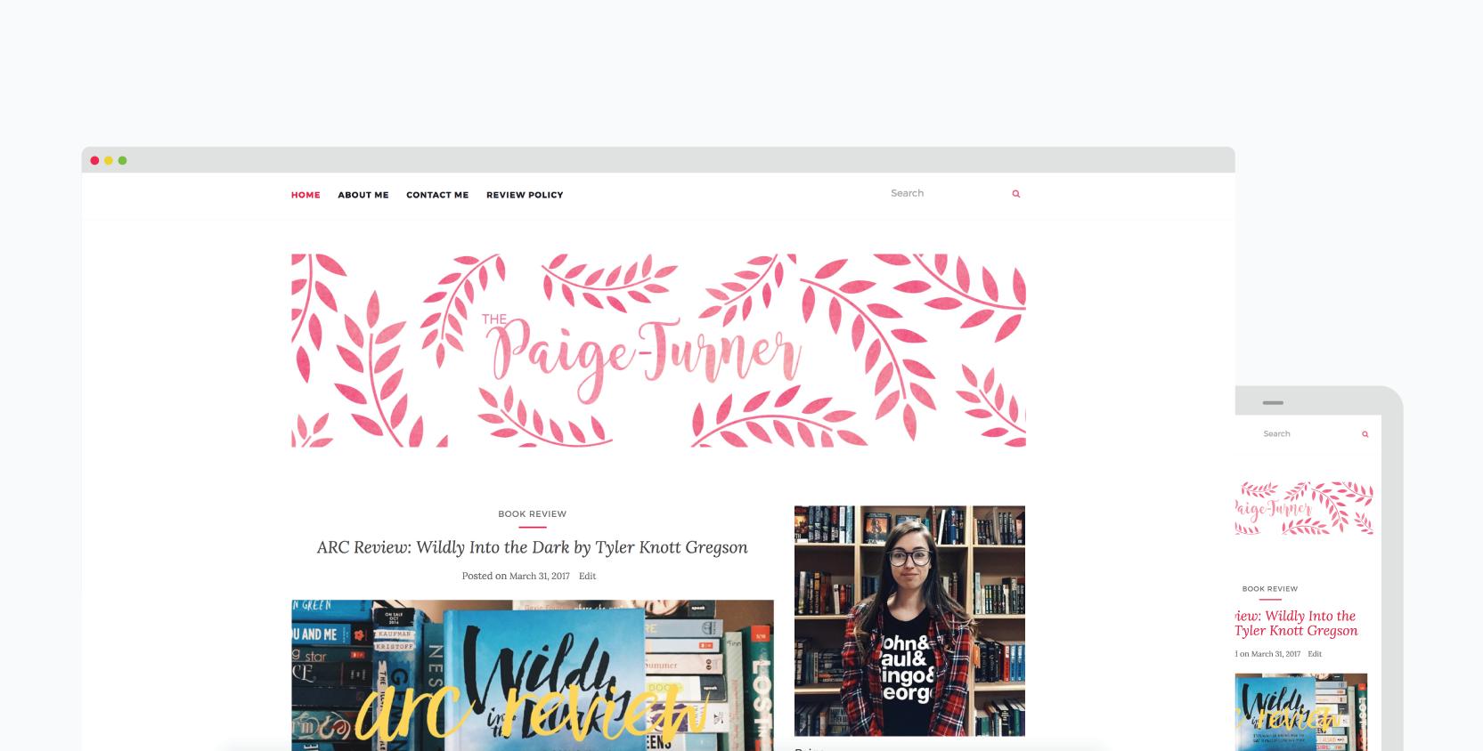 Paige-Website